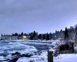 Photo of Bluefin Bay on Lake Superior Tofte
