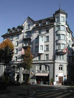 Drei Konige Hotel Lucerne
