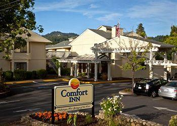 ‪Comfort Inn Calistoga, Hot Springs of the West‬