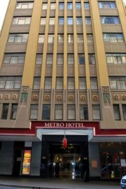 Metro Hotel on Pitt