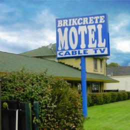 Brikcrete Motel Wyoming