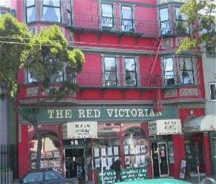 Red Victorian Bed, Breakfast &amp; Art