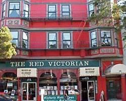 Red Victorian Bed, Breakfast & Art
