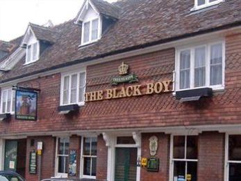 The Black Boy, Bury St Edmunds