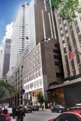 Photo of Club Quarters, opposite Rockefeller Center New York City