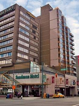 Sandman Hotel Vancouver City Centre