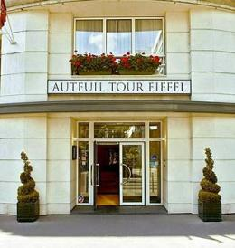 Hotel Auteuil Tour Eiffel