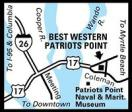 ‪BEST WESTERN Patriots Point‬