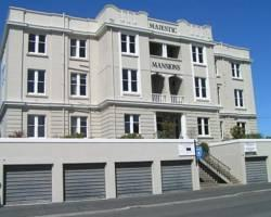 Majestic Mansions Apartments at St Clair, Dunedin