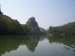 Xinghu Lake of Zhaoqing
