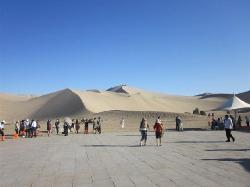 Mingsha Shan (Echo Sand Mountain) Park, Dunhuang, China