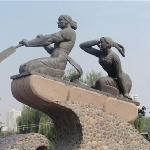 Binhe Park of Lanzhou