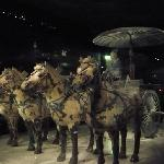 Bronze Chariot and Horse of Qinling