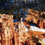冬日的Bryce point