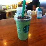 green tea frappuchino