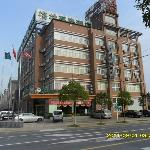 Foto van GreenTree Inn Taizhou East Meilan Road Business Hotel