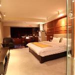 Foto van Comma Apartment Chengdu Xinian