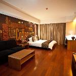 Foto de Lejiaxuan Creative Theme Serviced Apartments Qingdao Thumb Plaza
