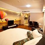 Lejiaxuan Creative Theme Serviced Apartments Qingdao Thumb Plaza Foto