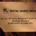 Фотография Royal Guest  House