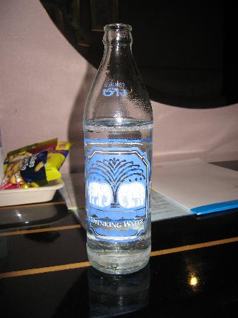 Astera Sathorn: The free bottle water in my room