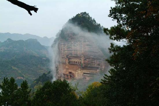 Tianshui China  city pictures gallery : Maiji Shan Caves Tianshui, China : Address, Top Rated Historic Site ...