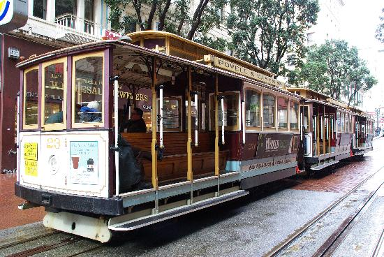 San Francisco, CA: cable car