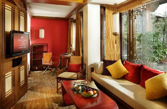 InterContinental Lijiang Ancient Town Resort: 豪华庭院客房