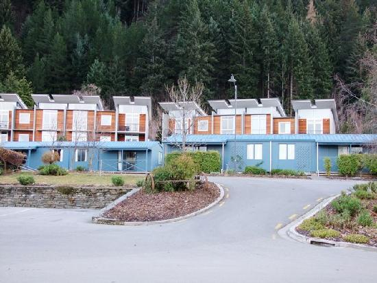 queenstown lakeview holiday park new zealand lodge. Black Bedroom Furniture Sets. Home Design Ideas