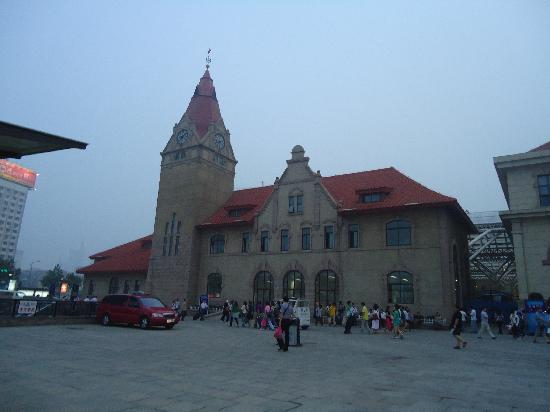 Qingdao, China: 火车站