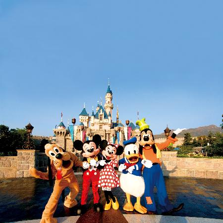 Click for Hong Kong Disneyland