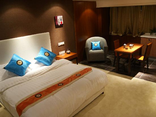 Jinguan Impression Apartment Hotel: 豪华大床房1
