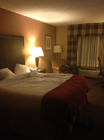 Holiday Inn Express Saugus (Logan Airport): 客房