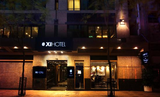 Xi Hotel: Hotel Main Enterance
