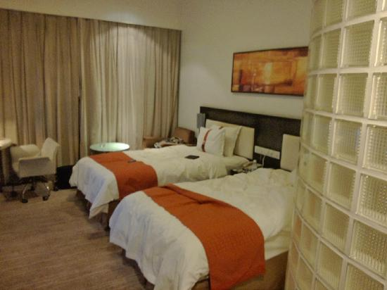 Holiday Inn Express Chengdu Gulou : 床