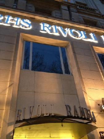 Hotel Serhs Rivoli Rambla: great