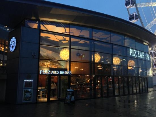 Restaurant Exterior Picture Of Pizza Express Liverpool