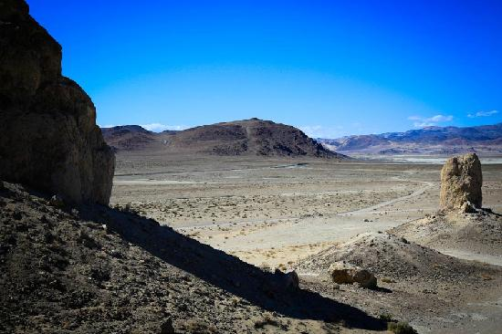 California Desert, CA: Pinnacles, Trona