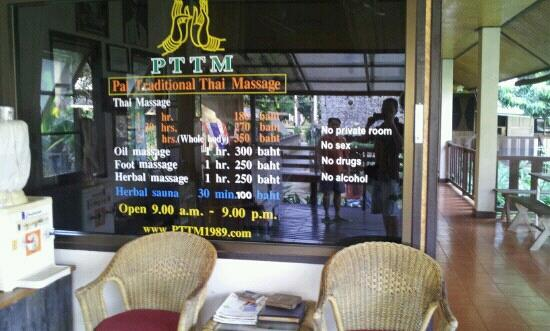 Pai Traditional Thai Massage(PTTM)