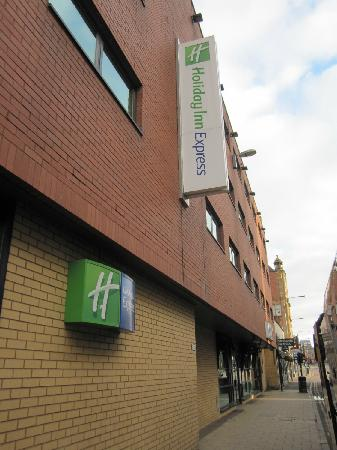 Holiday Inn Express Glasgow City Centre Riverside: 外观