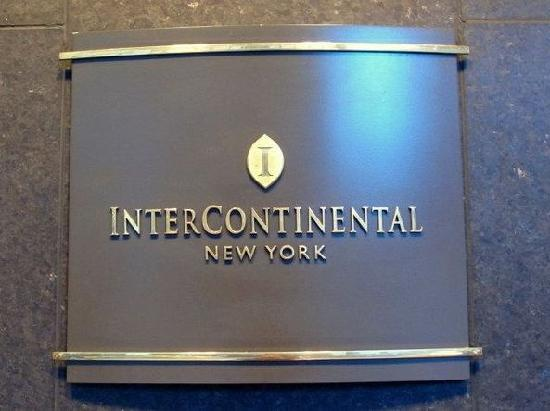 InterContinental New York Times Square : wef 