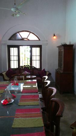 Nooit Gedacht - Ayurveda Health Resort: dining area