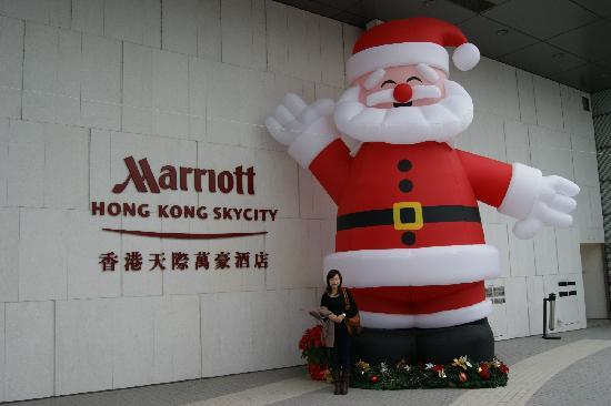 Hong Kong SkyCity Marriott Hotel: X&#39;mas