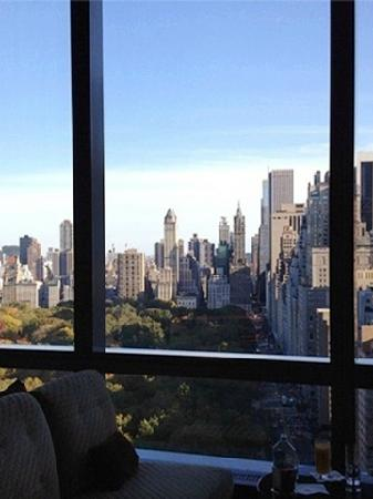 Mandarin Oriental, New York: 窗外的中央公园