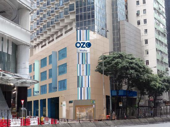 OZO Wesley Hong Kong: Exterior Photo