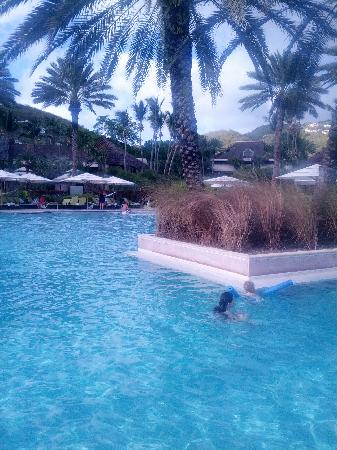 Westin St. John Resort & Villas: 酒店泳池