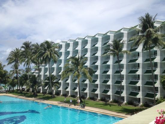 Le Meridien Phuket Beach Resort: 酒店一角
