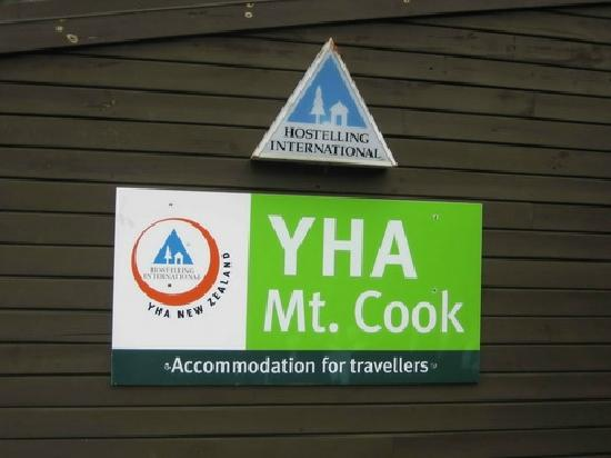 YHA Mt. Cook: 指路