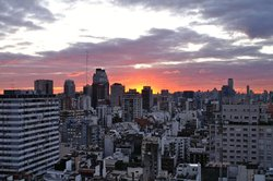 Sunset in Recoleta