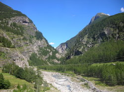Simplon Pass and Tunnel